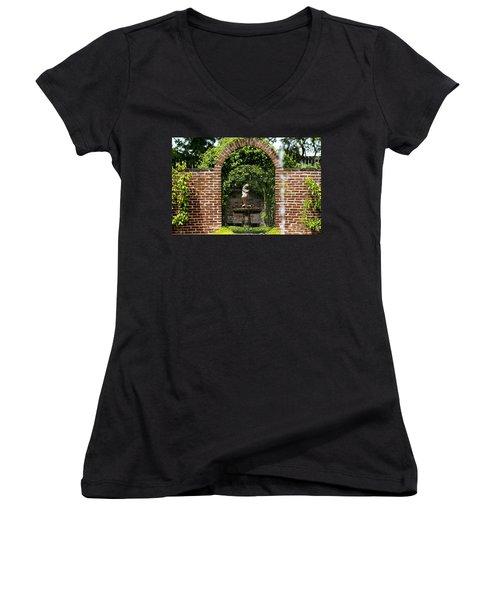 Garden Spot Women's V-Neck T-Shirt