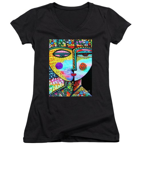 Garden Trellis Women's V-Neck T-Shirt