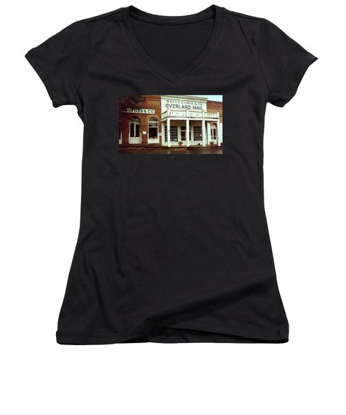 Ghost Town Women's V-Neck (Athletic Fit)