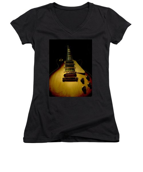 Guitar Triple Pickups Spotlight Series Women's V-Neck