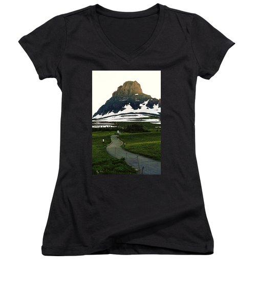 Glacier National Park 8 Women's V-Neck