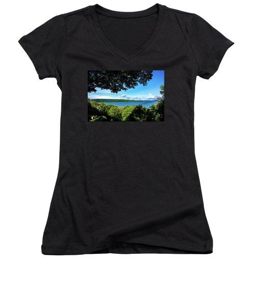 Glen Lake Women's V-Neck T-Shirt