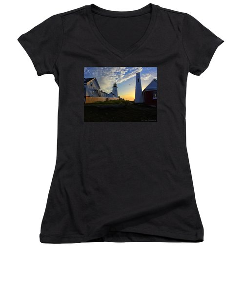 Glow Of Morning Women's V-Neck