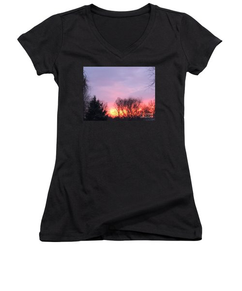 Glowing Almost Gone Women's V-Neck T-Shirt