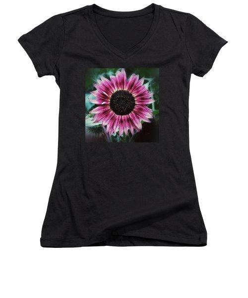 Go Pink Women's V-Neck T-Shirt