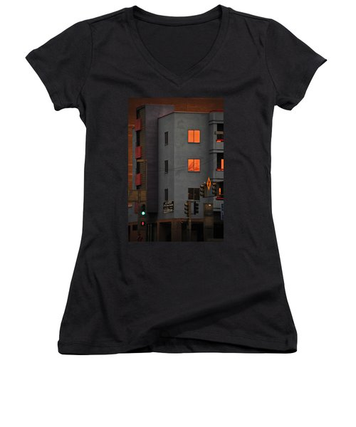 Go Women's V-Neck T-Shirt (Junior Cut)