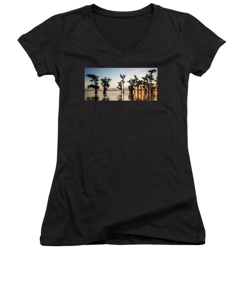 God's Artwork Women's V-Neck (Athletic Fit)