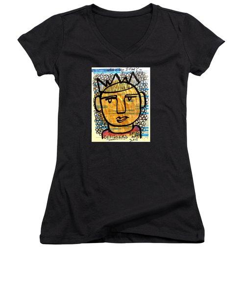 Gold King Women's V-Neck