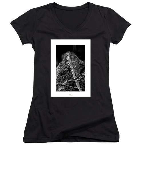 Golden Globules  Women's V-Neck T-Shirt