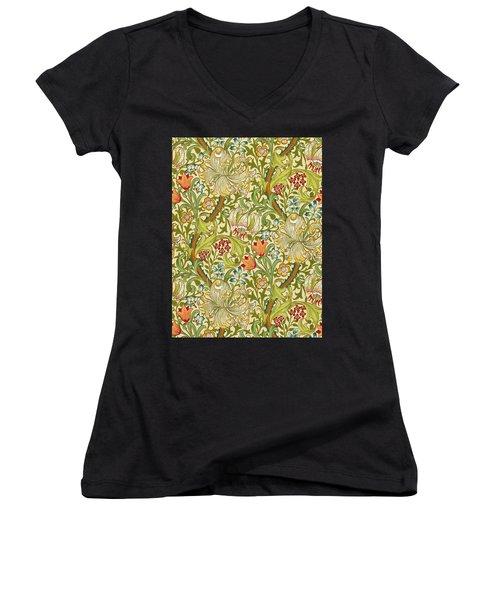 Golden Lily Women's V-Neck