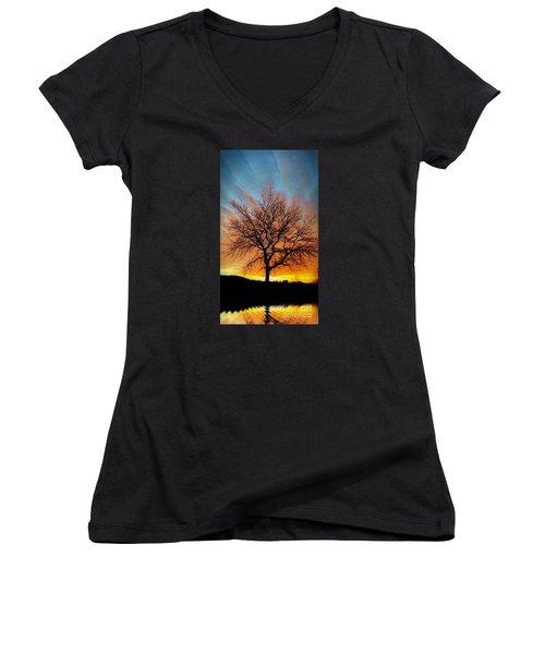 Golden Reflection Women's V-Neck T-Shirt