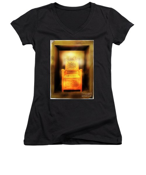 Golden Throne Women's V-Neck