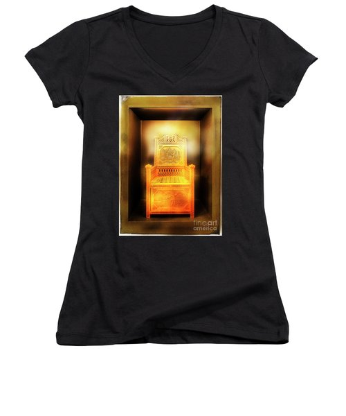 Golden Throne Women's V-Neck (Athletic Fit)