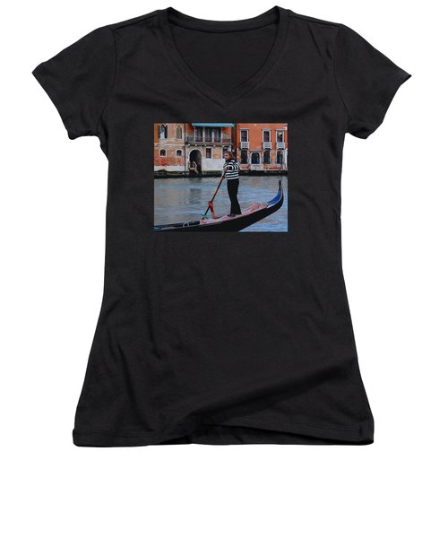 Gondolier Venice Women's V-Neck (Athletic Fit)