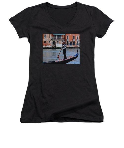 Gondolier Venice Women's V-Neck (Athletic Fit)