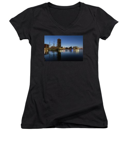 Good Morning Baltimore Women's V-Neck