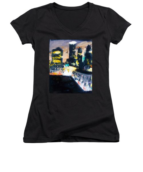Gotham Women's V-Neck