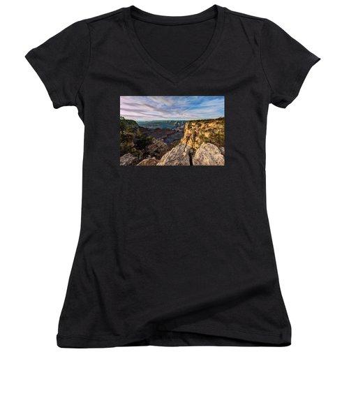 Grand Canyon National Park Spring Sunset Women's V-Neck