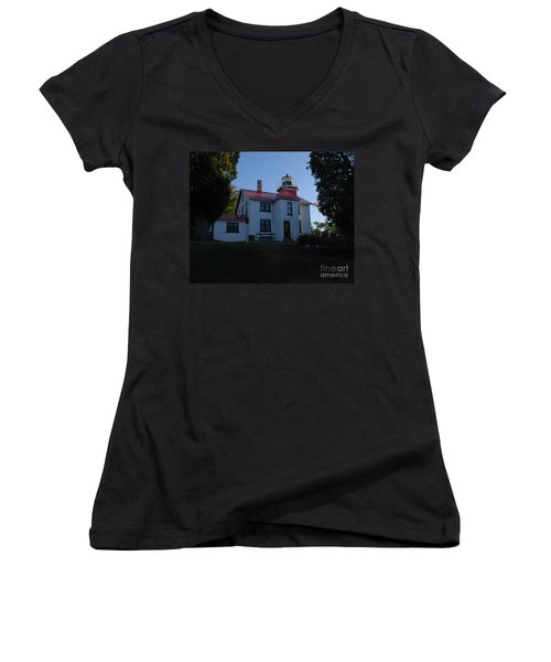 Grand Traverse Light House Women's V-Neck T-Shirt