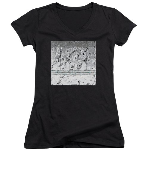 Gray Matters 6 Women's V-Neck T-Shirt