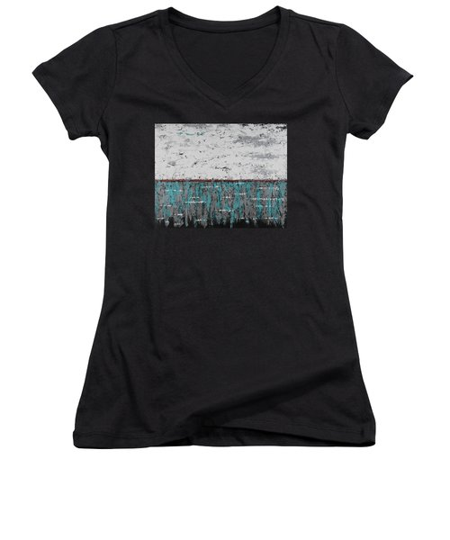Gray Matters 1 Women's V-Neck T-Shirt