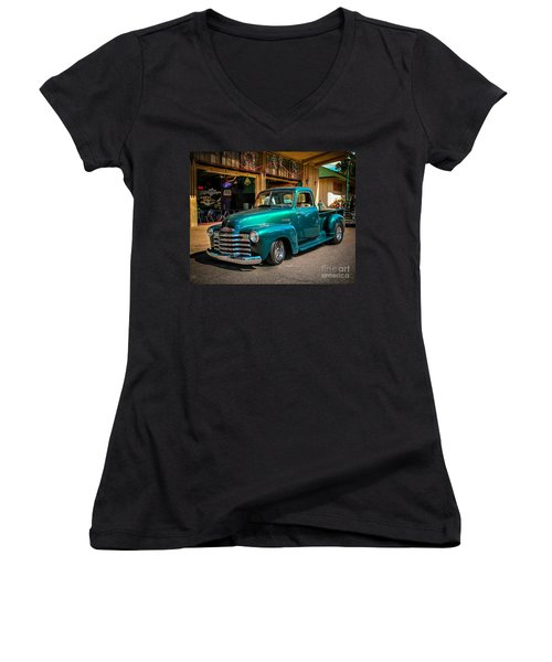 Green Dreams Women's V-Neck T-Shirt