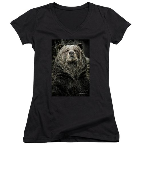Grizzly Bear Women's V-Neck