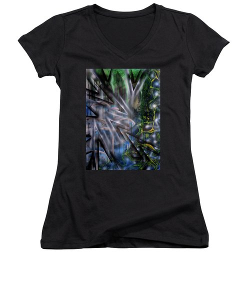 Growth Women's V-Neck (Athletic Fit)