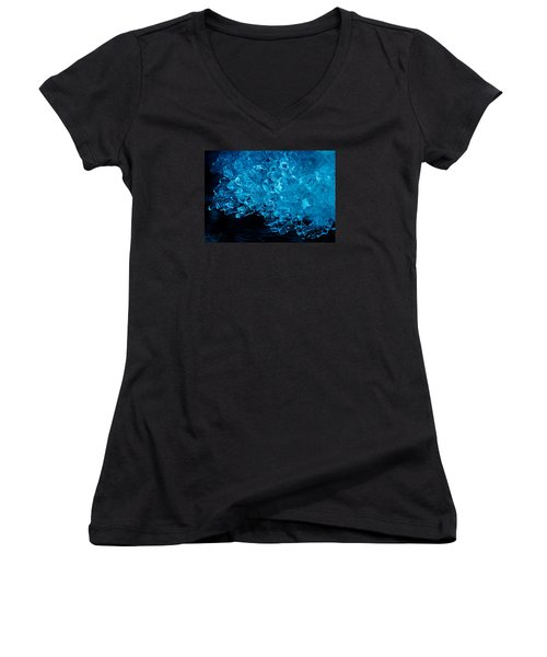 H2o....more Precious Than Diamonds Women's V-Neck T-Shirt