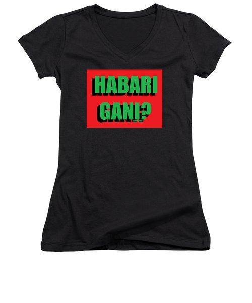 Habari Gani Women's V-Neck