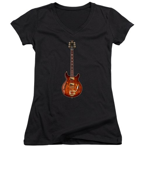 Hamer Newport Flame Women's V-Neck T-Shirt (Junior Cut) by WB Johnston