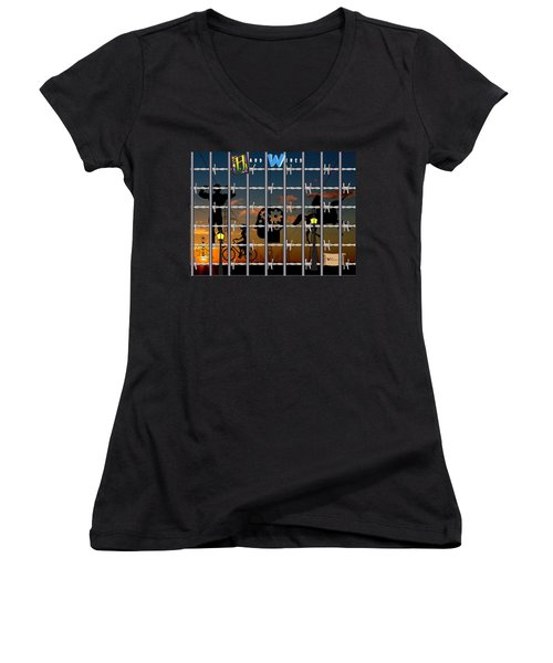 Hard-wired Women's V-Neck (Athletic Fit)