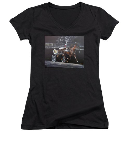 Harness Racing Women's V-Neck