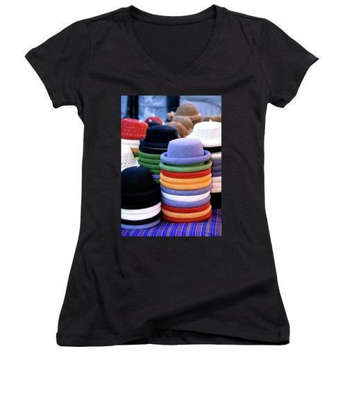Hats, Aix En Provence Women's V-Neck