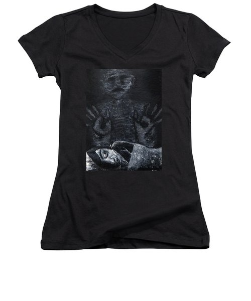 Haunted Women's V-Neck