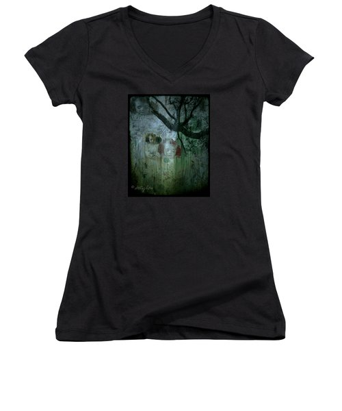 Haunting Women's V-Neck