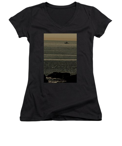 Heading Out Women's V-Neck (Athletic Fit)