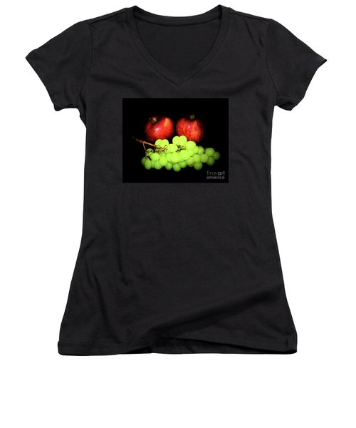 Healthy 1-8 Women's V-Neck (Athletic Fit)