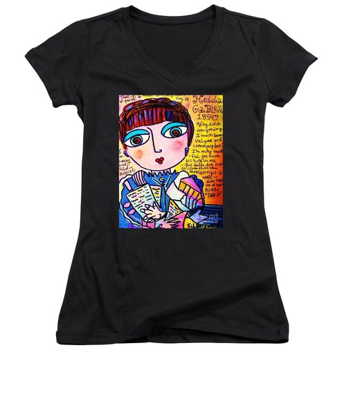 Hedda Gabler Women's V-Neck T-Shirt