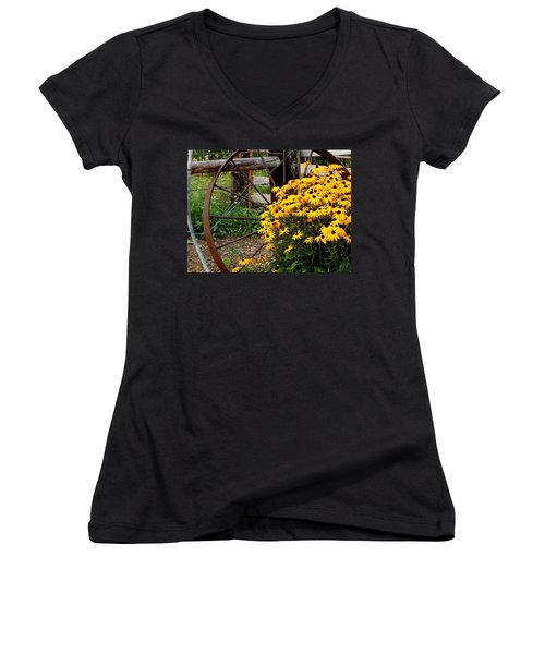 Hello And Welcome Women's V-Neck
