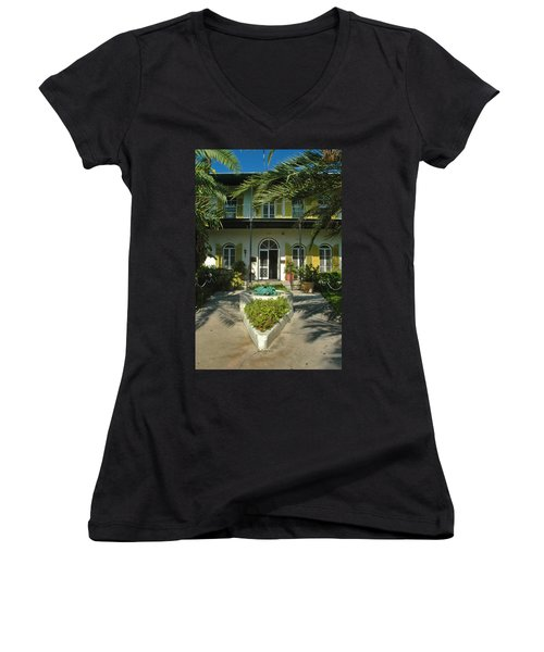 Hemingways House Key West Women's V-Neck