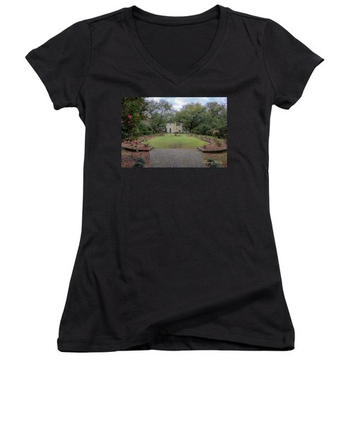 Heyman Garden 03 Women's V-Neck T-Shirt