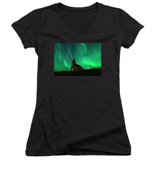Holy Places Women's V-Neck T-Shirt