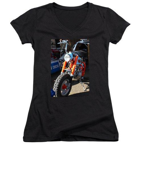 Honda Mini Trail Women's V-Neck T-Shirt