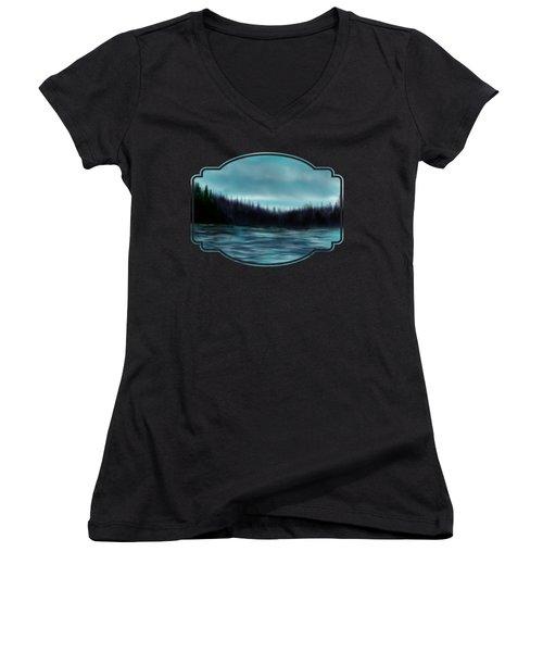 Hood Canal Puget Sound Women's V-Neck T-Shirt