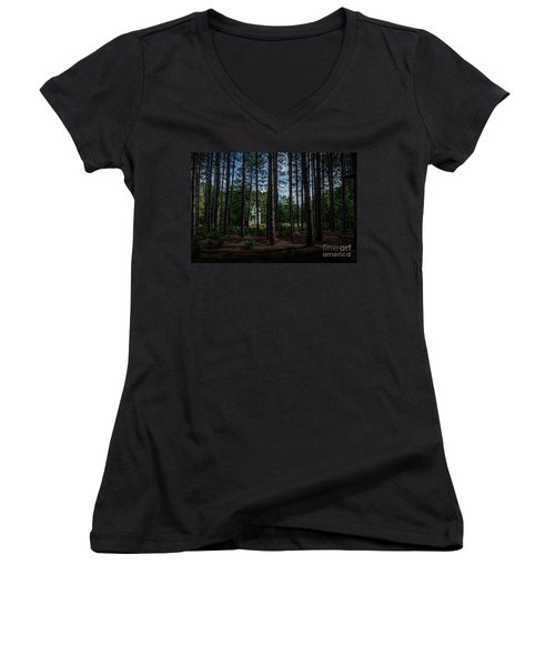 House In The Pines Women's V-Neck