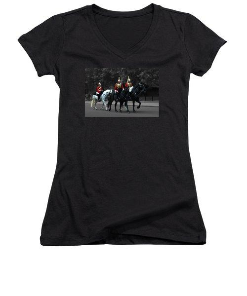 Household Cavalry Women's V-Neck T-Shirt