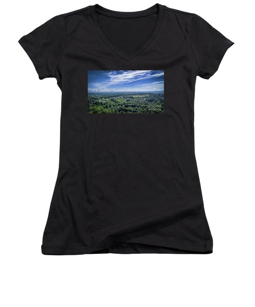 Hudson Valley View Women's V-Neck (Athletic Fit)
