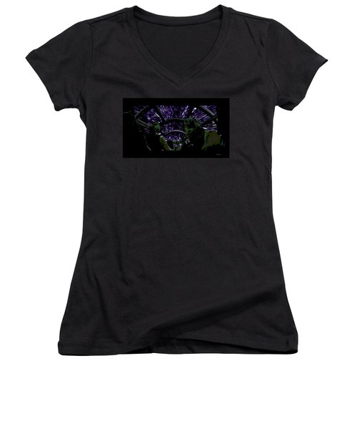 Hyper Space Women's V-Neck T-Shirt