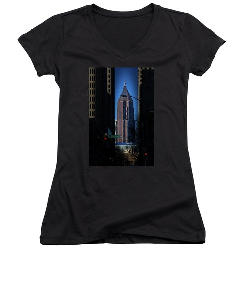 Ibm Tower Women's V-Neck